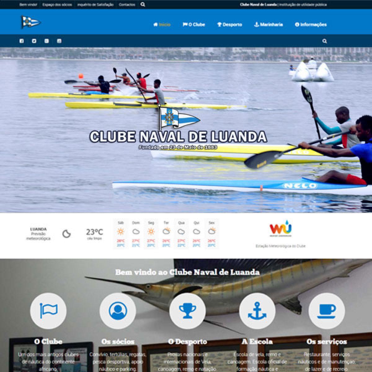 CNL Canoagem Página Exemplo