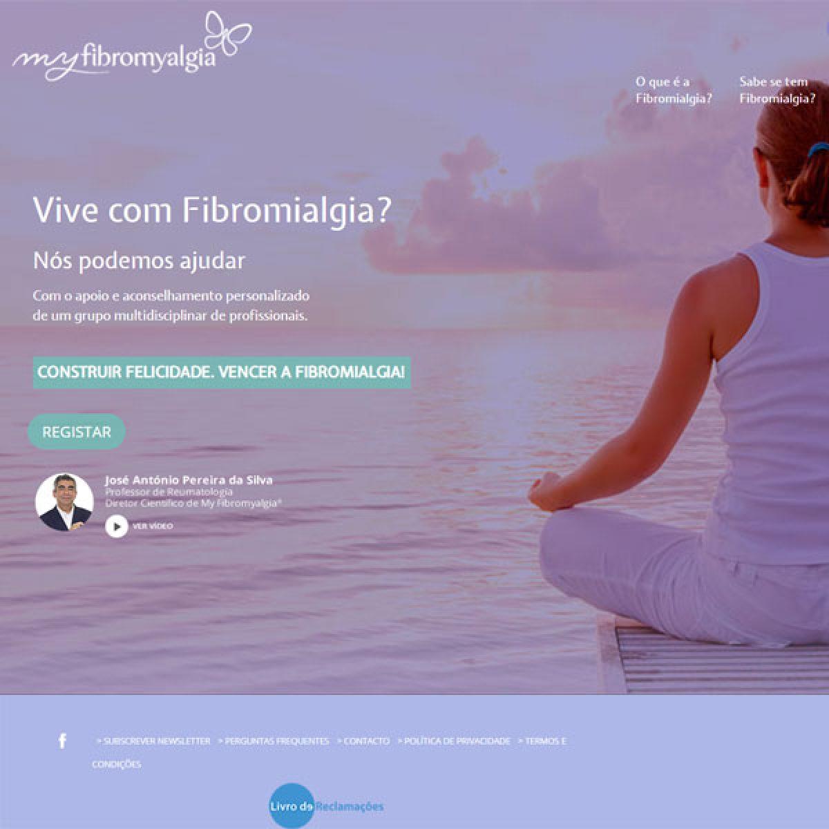 Fibromyalgia Página Exemplo